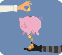 Pensionssäljare – grisen i säcken