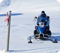 Börjar det bli dags att ta fram snöskotern? Har du en giltig försäkring?