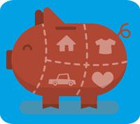 Singel i bostadsrätt = 2 - 3 månadslöner i buffert