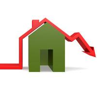 Knappt 7 procent tror att bostadspriserna faller mer än 21 procent
