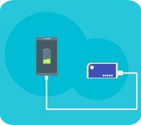 Ha alltid en fulladdad Power bank/charger för din smartphone