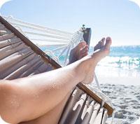 Hur du unnar dig en avslappnad semester