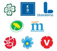 Riksdagspartiernas plånboksfrågor sammanfattade i en bild!