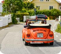 Rosa? Grå? Blå? Vilken färg ger bäst andrahandsvärde på bilen tror du?