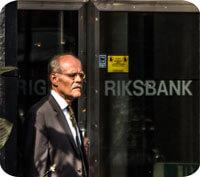 Riksbanken höjer reporäntan till 0,00 procent