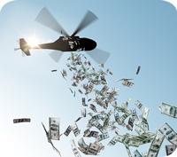 Helikopterpengar - pengar till alla medborgare?