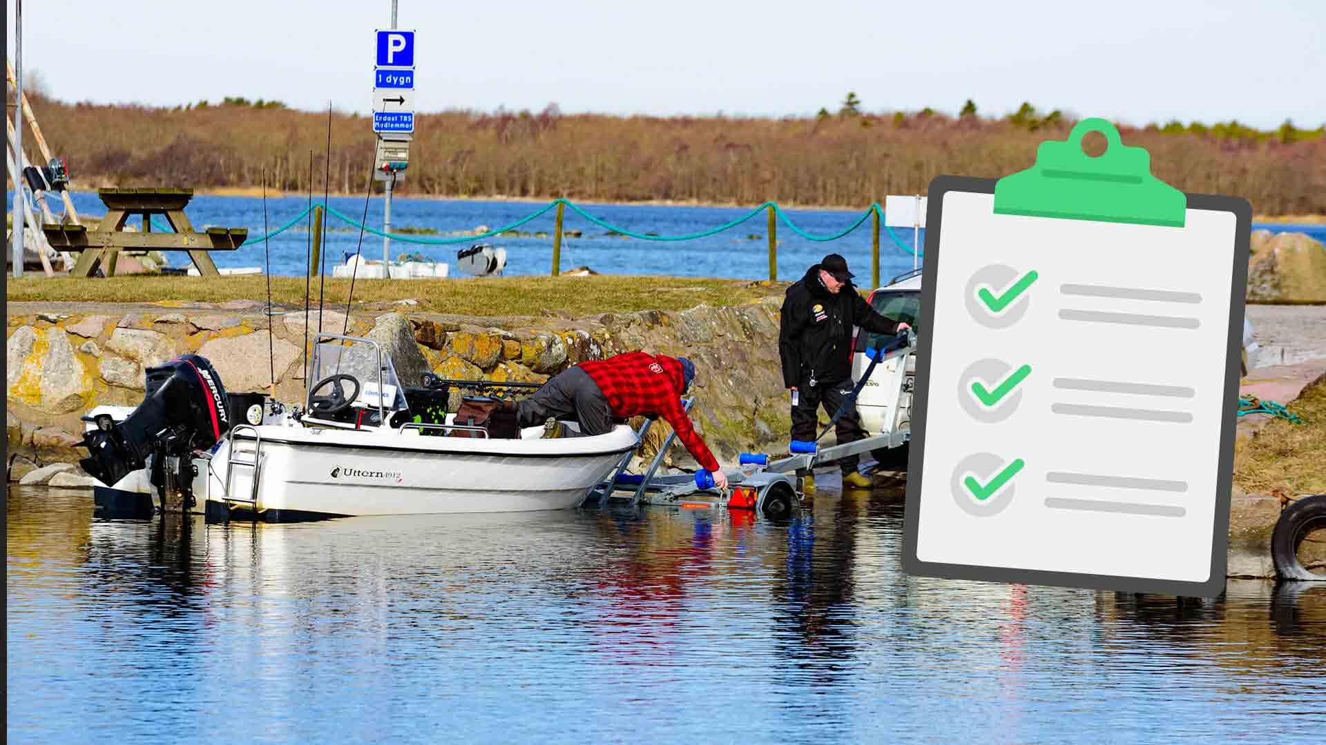 Checklista för en lyckad sjösättning