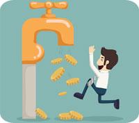 Avdragsgill negativ ränta på sparkontot?