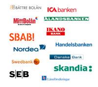 Ny tjänst: Bankernas snitträntor på bolån